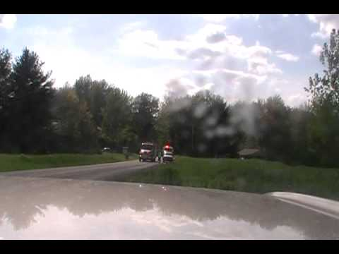 MVA motorcycle accident LifeFlight in Shunk PA.wmv