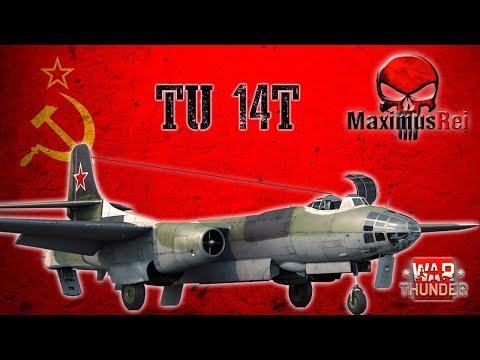War Thunder - Tu-14T Um Ícone E Meu Preferido [PT-BR]