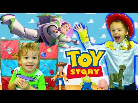 TOY STORY 4 Carnival Themed Buzz Lightyear Birthday Game