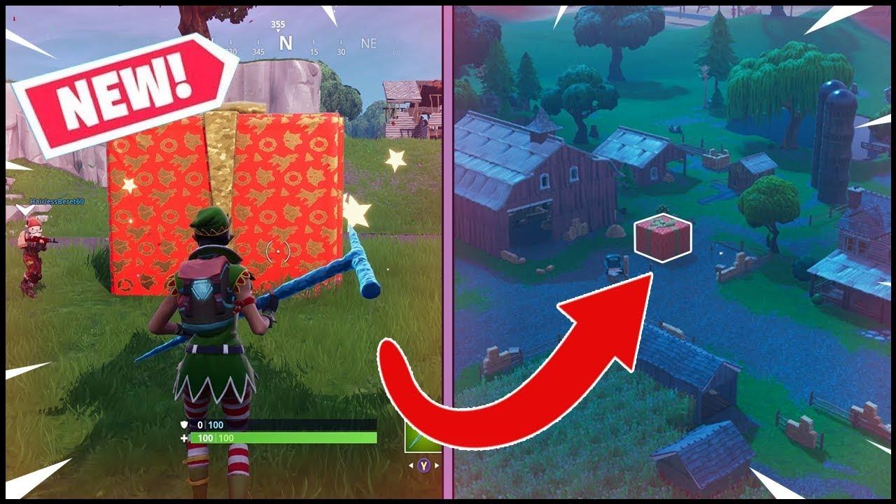 New Present Item In Fortnite Update 7 10 Content Update Patch