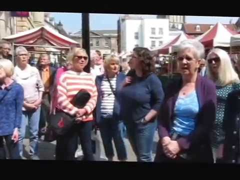 Just Sing! in Newark Market Place