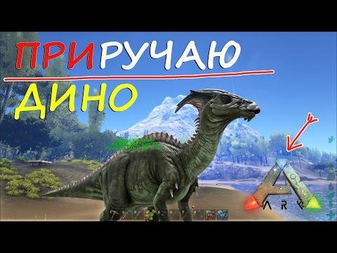 ARK Survival Evolved, Как приручить динозавра в АРК