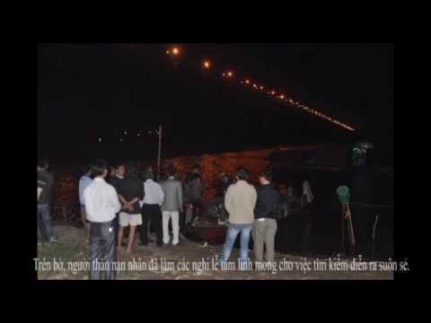 Video: Tìm nạn nhân bị ném xác ngay dưới chân cầu Thanh Trì
