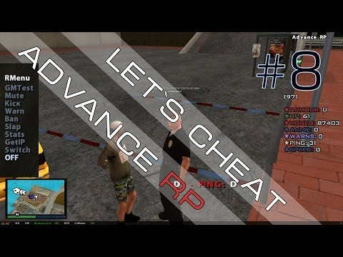 Let`s Cheat Advance Rp #8 Как админ