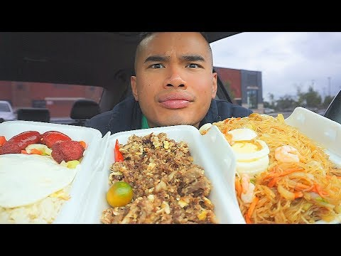 First Time Trying AUTHENTIC FILIPINO FOOD | MUKBANG | QT