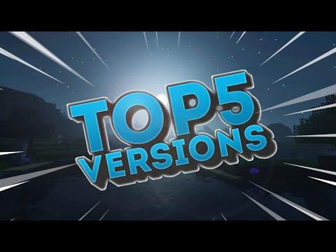 Top 5 Minecraft Versions