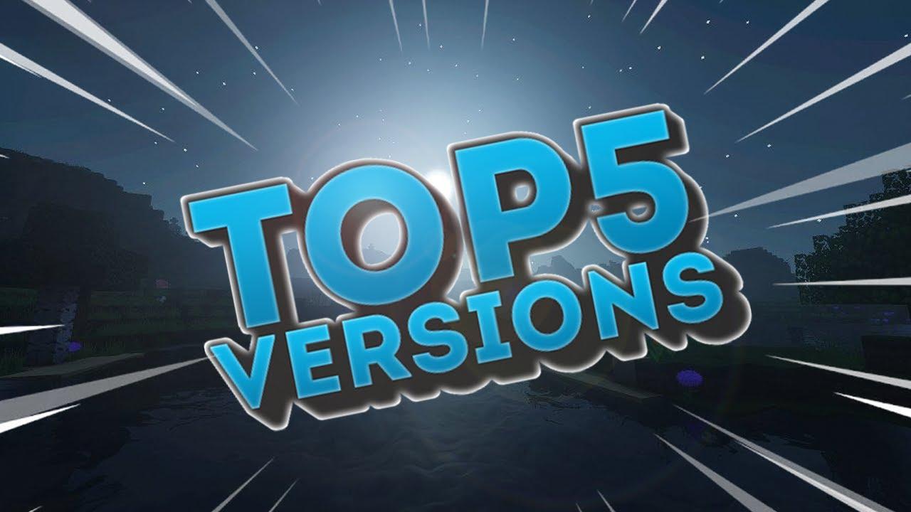 Top 9 Minecraft Versions