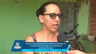 Comunidade de Poço Redondo agradece ao vereador Paulo Santiago por solucionar o problema de água