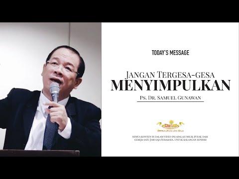 Pdt. Samuel Gunawan - GSJS Gereja Satu Jam Saja Grand City Surabaya (23 Nov 2016)