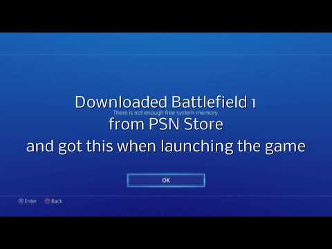 PS4 Error