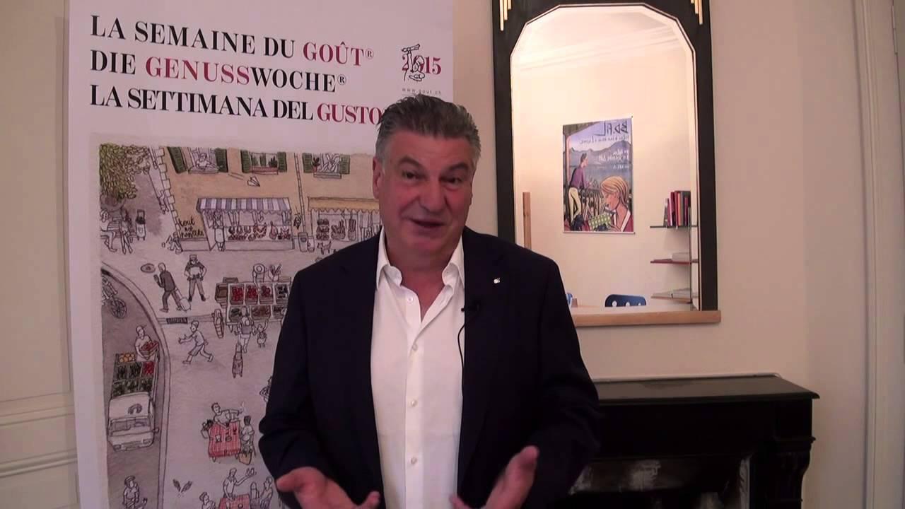 Interview de Josef Zisyadis, président de la Fondation pour la Promotion du Goût