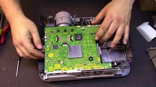 NEC M300X LCD Projector Repair/Diagnosis