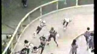 Japan vs USA, part 1, roller derby 1974