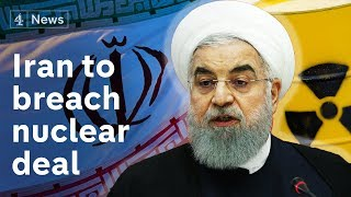 Iran says it will breach nuclear deal 'in days' as its uranium stockpile limit nears