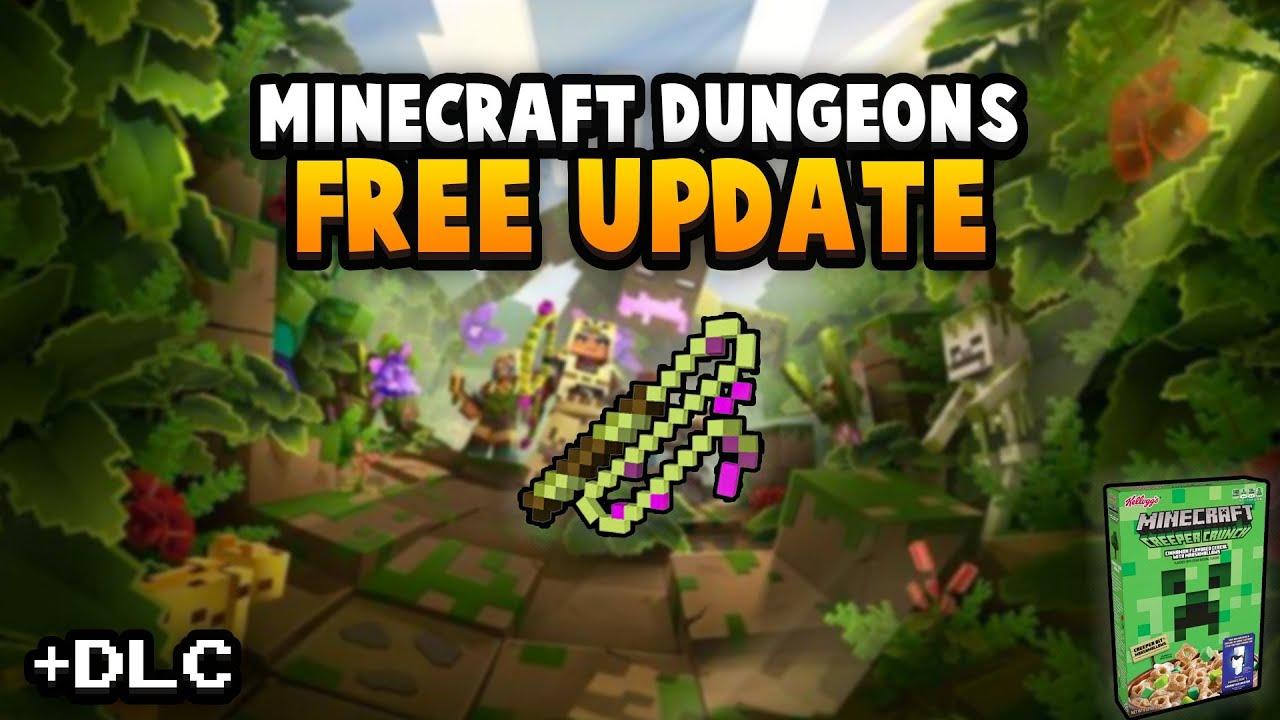 Minecraft Dungeons - First Big Update ...
