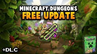 Minecraft Dungeons - First Big Update, DLC & Cereal!?