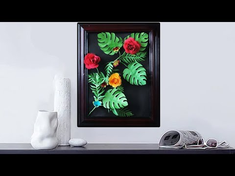 DIY Simple Photo Frame Ideas using Newspaper | Easy and Simple Paper Craft Tutorial | Kids Craft