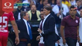 Expulsan a Herrera y Cristante | América - Toluca | Clausura 2018 - Jornada 12 | Televisa Deportes