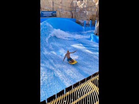Wild Wadi Waterpark Dubai | Flowrider #Shorts