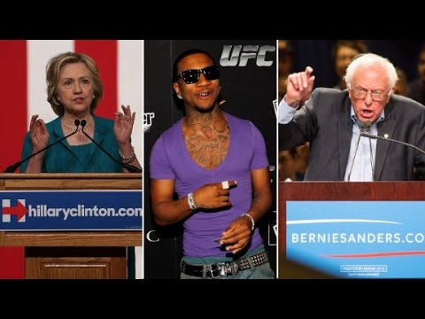 Rapper Lil B: Sanders 'really touched my heart'