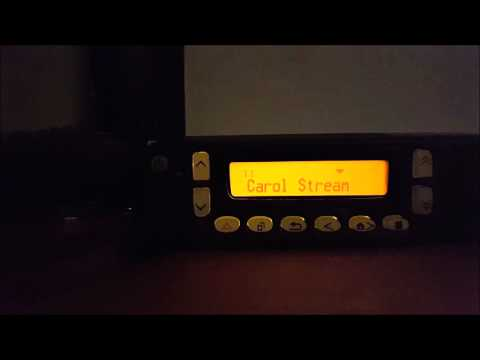 Kenwood NX-800 - Pre-Spring Break School Bus Radio Chatter with FleetSync