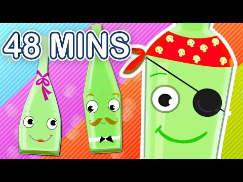10 GREEN BOTTLES! + More Kids' Songs! Fantastic Nursery Rhymes Collection
