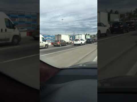 Ремонт дороги на Дмитровском шоссе деревня грибки