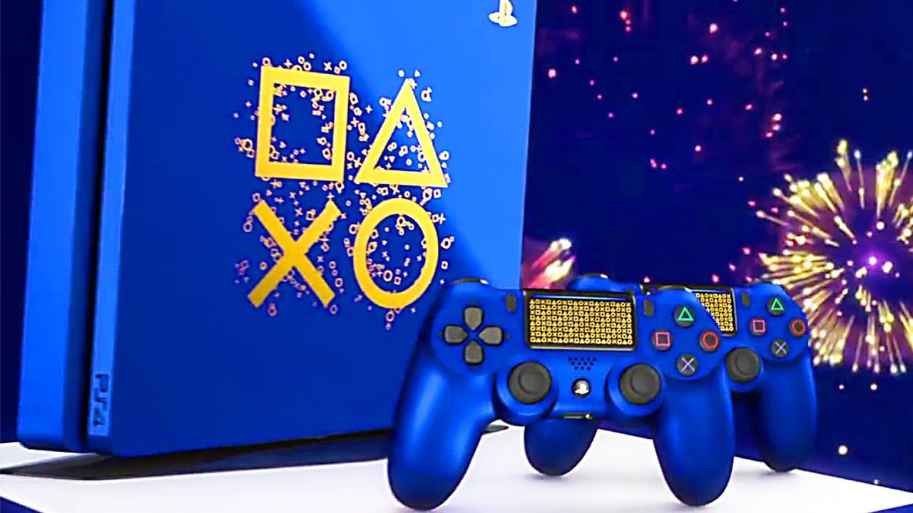 nouvelle console ps4 en edition limit e days of play 2018 youtube. Black Bedroom Furniture Sets. Home Design Ideas