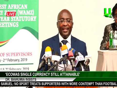 ECOWAS single currency still attainable  - Dr. Bawumia Insists
