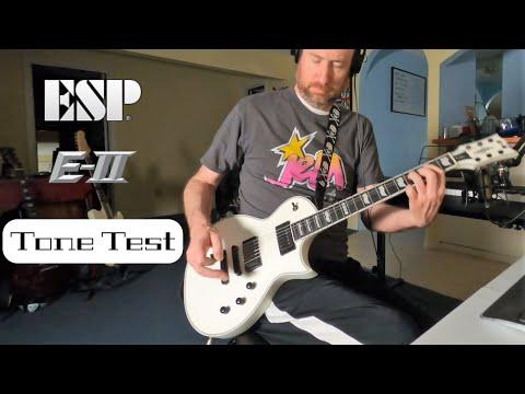 ESP E-II Eclipse Tone Test