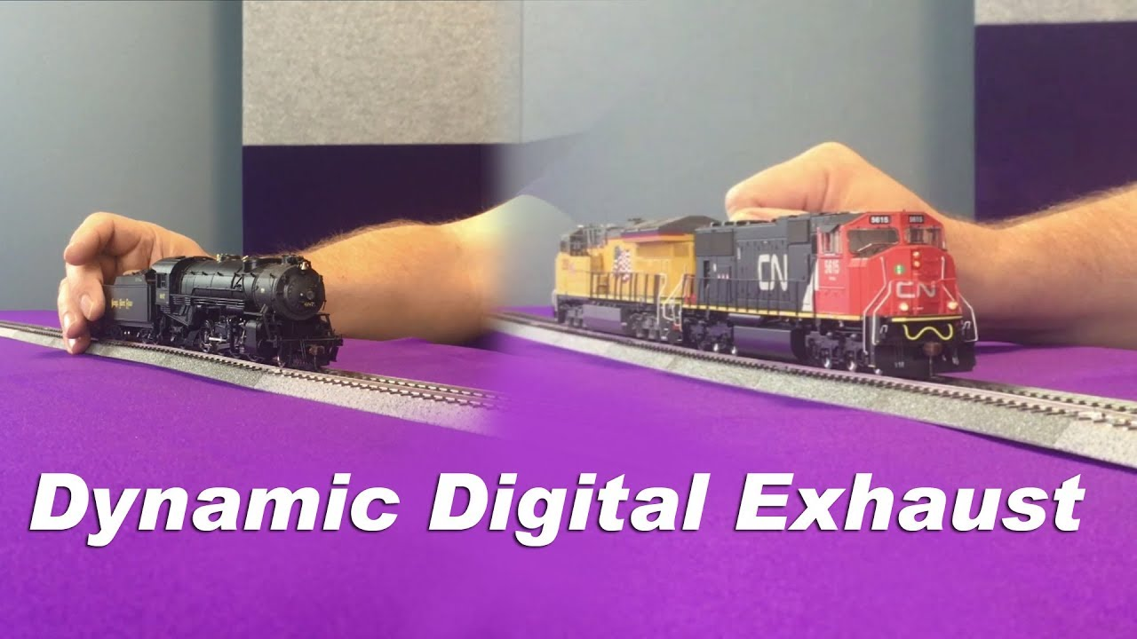 Model Train Sounds | Tsunami2 Digital Sound Decoders
