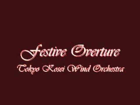 Festive Overture. Eastman Wind Ensemble.