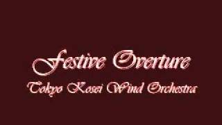 Festive Overture. Eastman Wind Ensemble.
