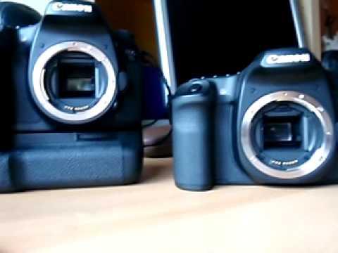 Canon EOS 50D vs. Canon EOS 7D burst shooting mode