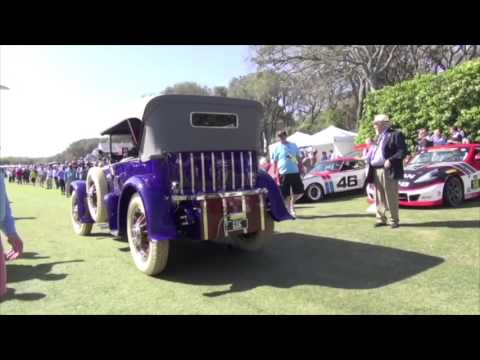 Fatty Arbuckle's Pierce Arrow At Amelia Island Concours D'Elegance