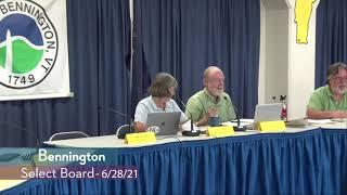 Bennington Select Board // 06/29/21