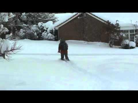 Dronfield Snow Dec 2010