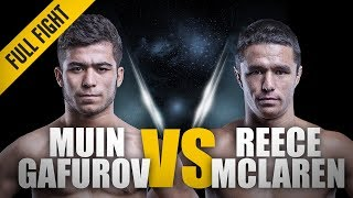 ONE: Full Fight | Reece McLaren vs. Muin Gafurov | Top-Shelf Grappling | April 2016