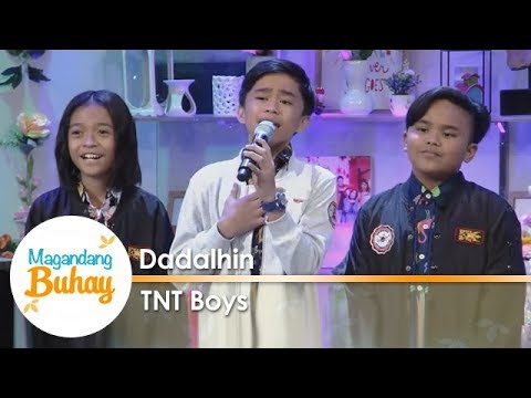 Magandang Buhay: TNT Boys perform Dadalhin together with the Asia's Songbird Regine Velasquez