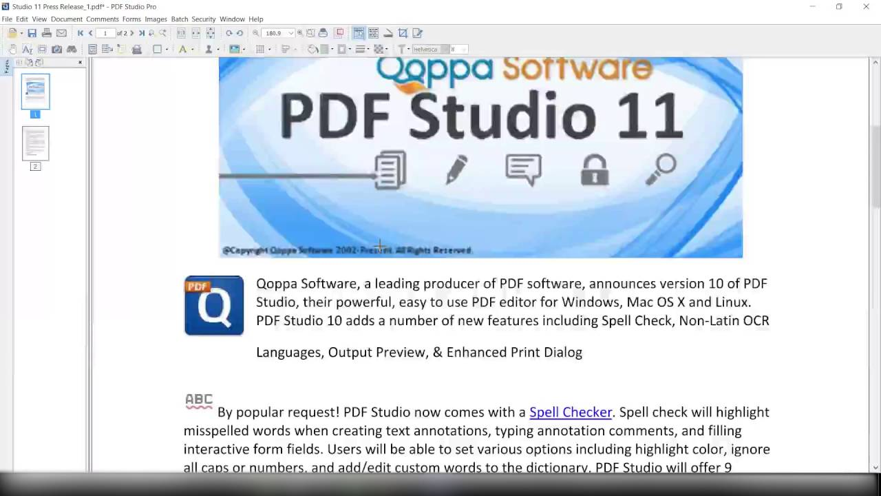 How to make text edits to a PDF on Windows, Mac OS and Linux