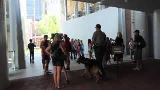 "New K9 ""bark"" Ranger At Independence Historic Park"
