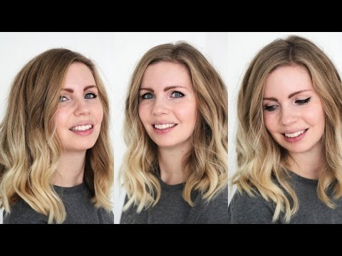 Long Bob Wellig Stylen Casual Look In 10 Minuten Youtube