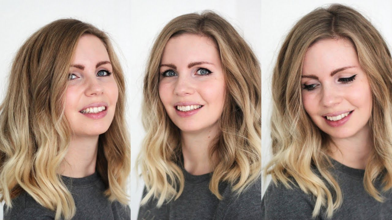 Long Bob Wellig Stylen Casual Look In 10 Minuten