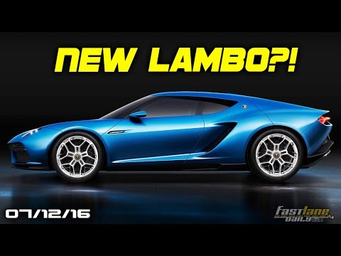 New Lamborghini Rumors, Autonomous McLaren, Aston Martin AM-RB 001 - Fast Lane Daily