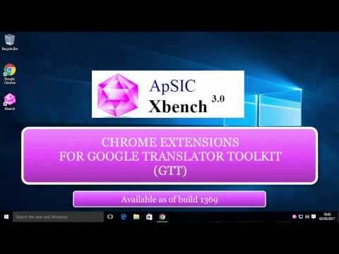ApSIC Xbench Extension for GTT/Polyglot