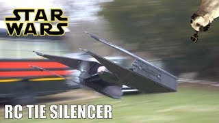 Download FLYING!! RC Star Wars Tie Silencer Mp3 and Videos