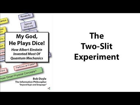 Albert Einstein: The Two-Slit Experiment