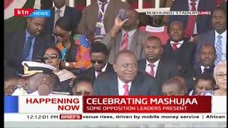 Celebration perfomances of song and dance |  #MashujaaDay