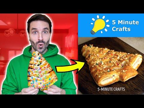 je-teste-des-recettes-noËl-5-minute-crafts---carl-is-cooking