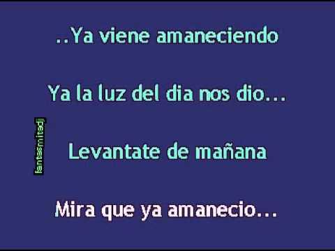 Karaoke Las Mañanitas Pista Original Con Mariachis Youtube